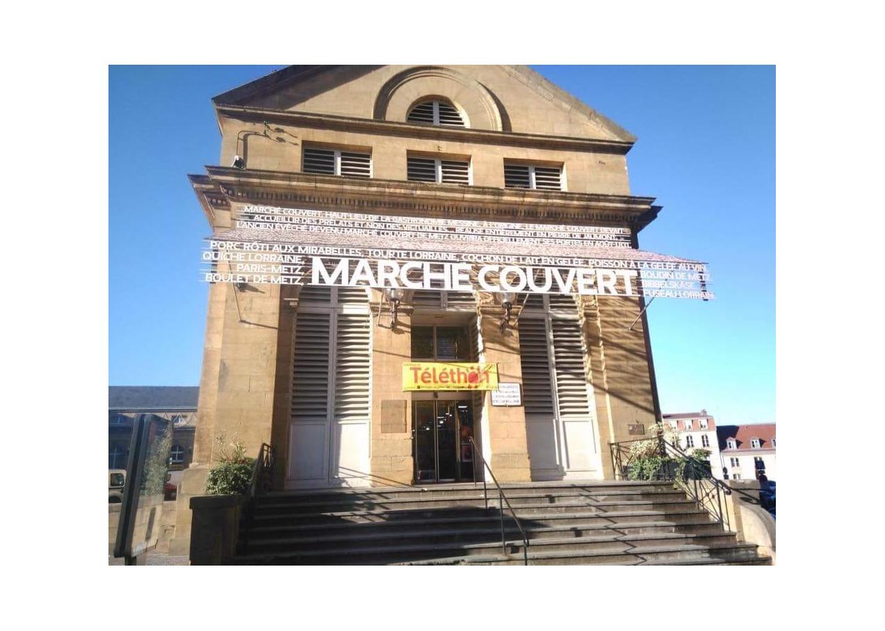 Téléthon au Marché Couvert - 07/12/19