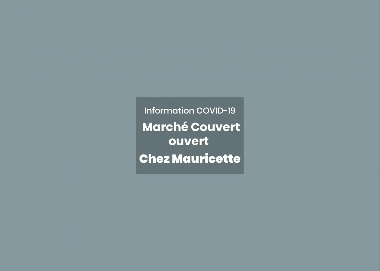 Chez Mauricette et Viva Italia ouverts au Marché Couvert