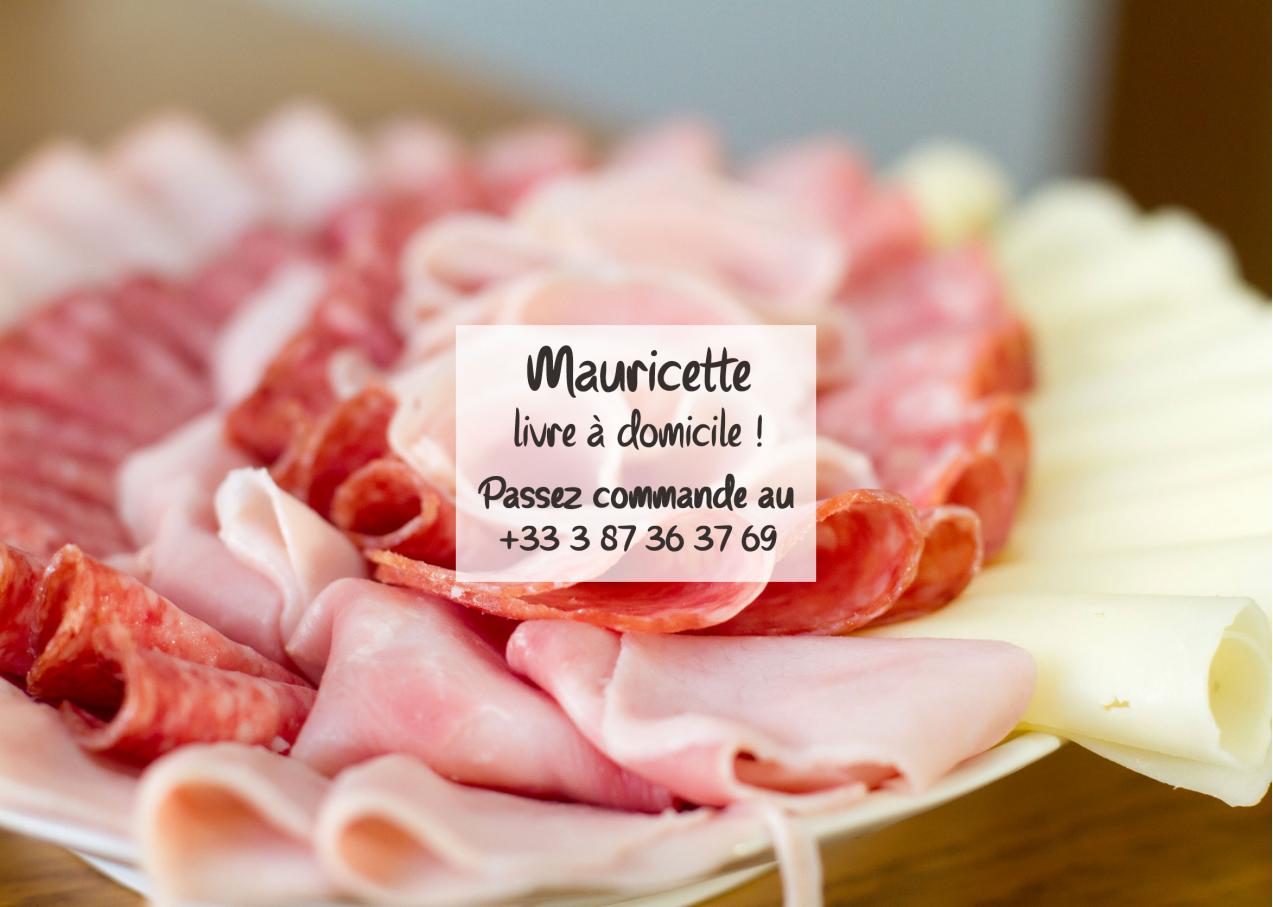 Faites-vous livrer avec Mauricette !