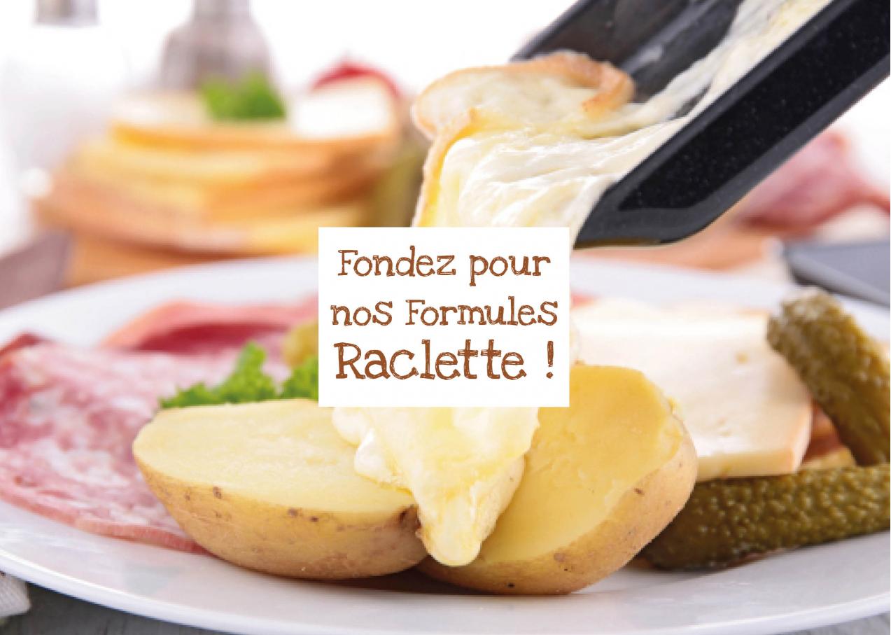 Fondez pour nos formules raclette !